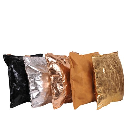 Poduszka dekoracyjna kolor miodowy rozmiar